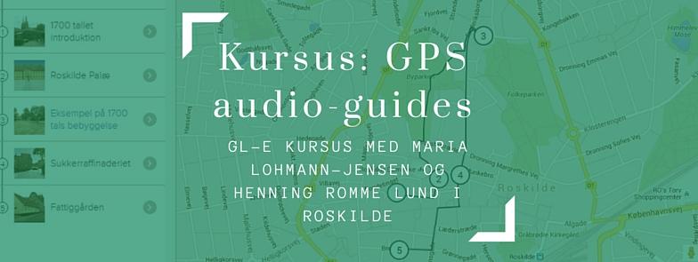 Lav GPS audio-guide ekskursioner til lokalområdet og på studieture til elevernes smartphone