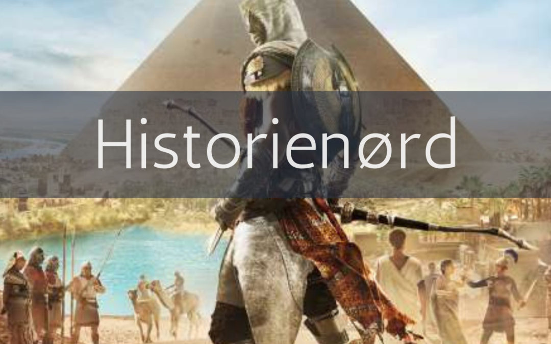 Podcast: Ægypten, Kleopatra og Cæsar i Assassins Creed Origins